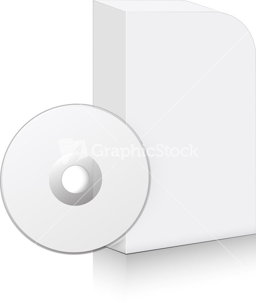 Software cd pack vector stock image Vector image software