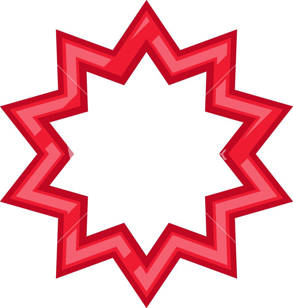 star frame stock image