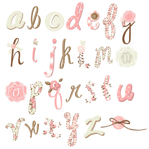 Royalty free flower vector stock font graphicstock