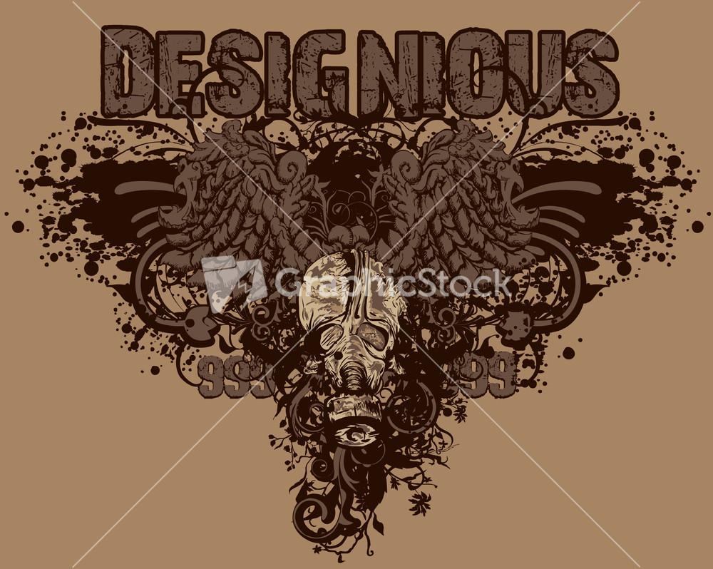 Design t shirt vintage - Vector Vintage T Shirt Design