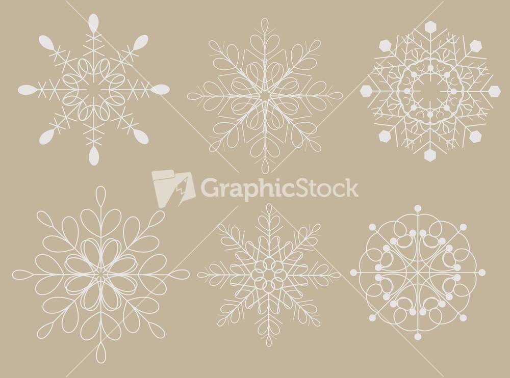 Vintage Snowflakes 58