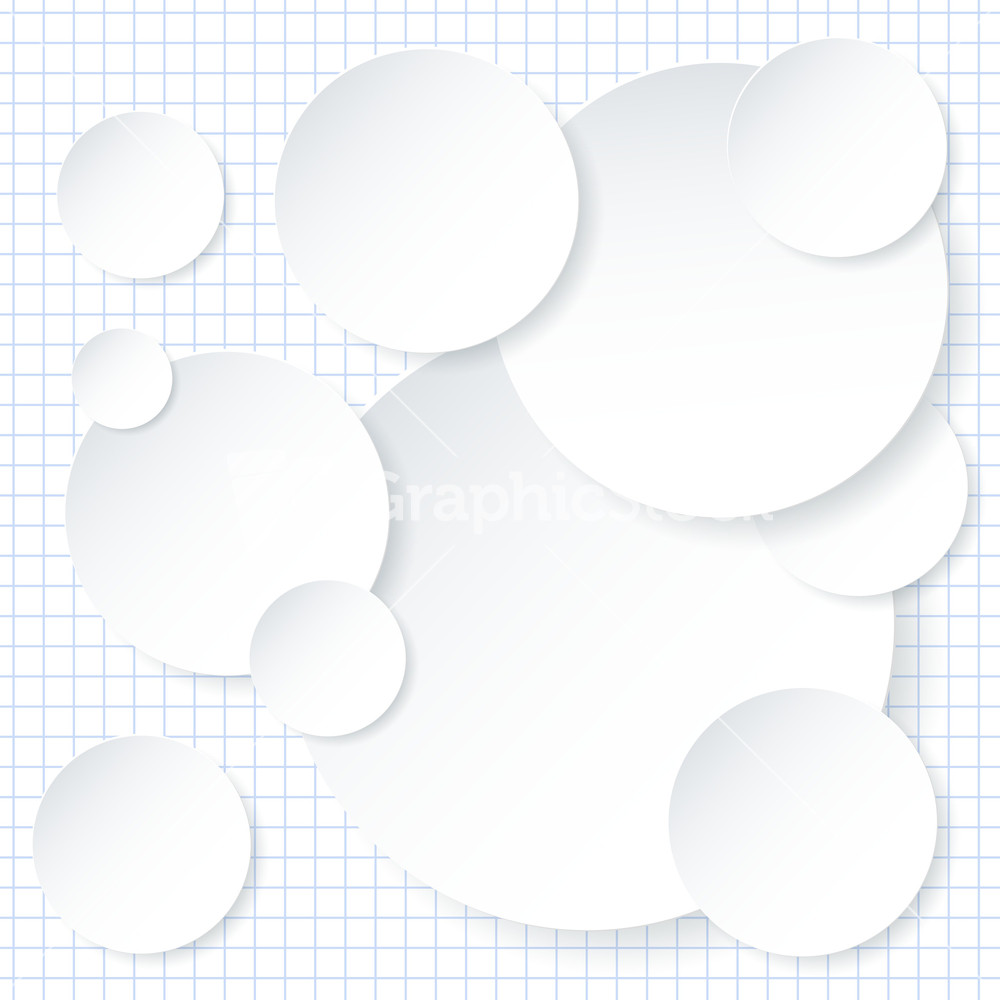White Paper Infographic Background Design Template. Vector. Stock ...