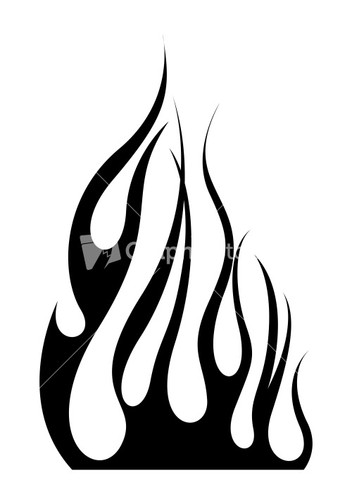 Abstract Flames Design