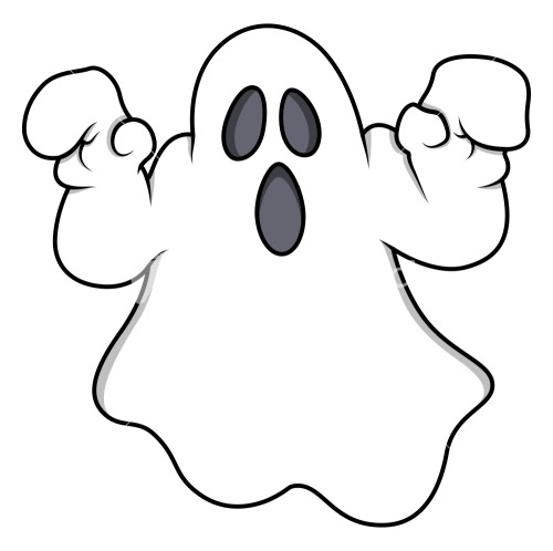Cartoon Ghost - Halloween Vector Illustration Stock ImageCartoon Halloween Ghosts