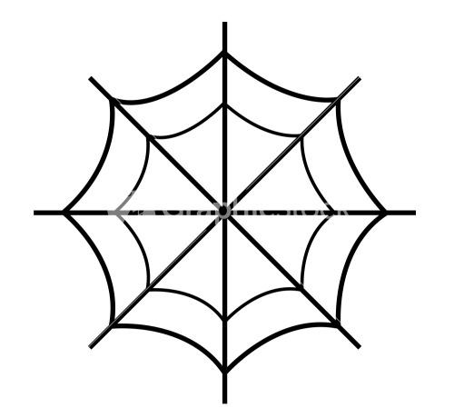 Spider Web Design Vector