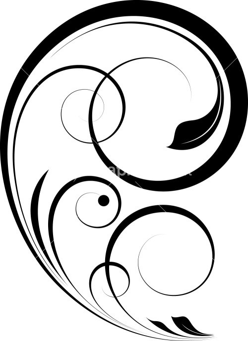 Calligraphy swirls royalty free vectors illustrations and