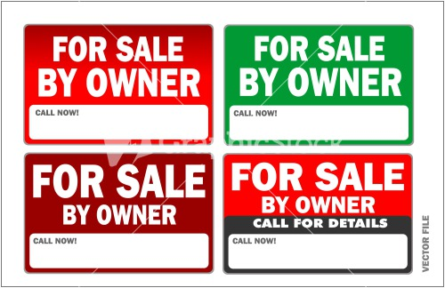 for sale by owner stock image