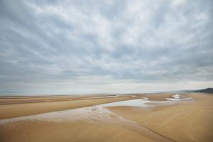Omaha Beach In Normandy