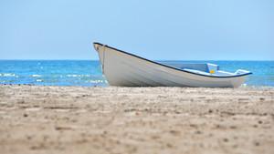 参照オンザビーチオールドスタイルホワイト漕ぎ船