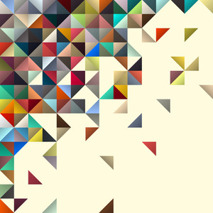 Fondo geométrico abstracto para el diseño