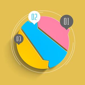 Abstrakt Infografik Vorlagen