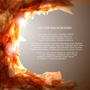 Abstract Vector Shiny Ackground