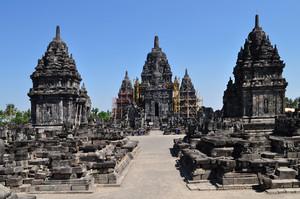 고대의 보로부두르 사원