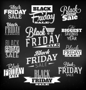 Black Friday Kalli Designs | Retro Style Elements | Vintage-Ornamente | Verkauf