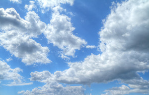 파란 하늘