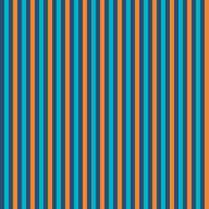 블루와 오렌지 스트라이프 패턴