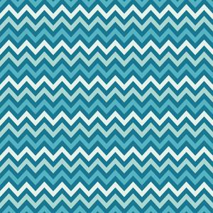 푸른 바다 셰브론 패턴