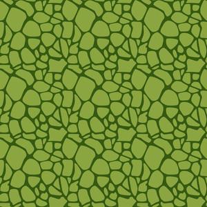 グリーン恐竜の皮膚紋様