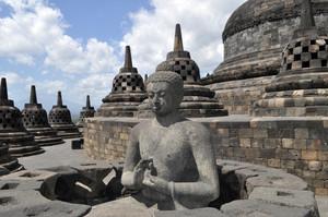불교 사원 보로부두르