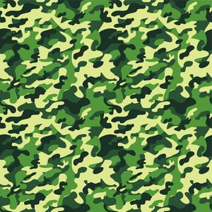 グリーン迷彩柄