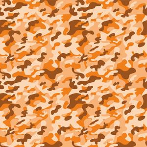 Orange Camouflage Pattern