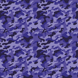 Purple Camouflage Pattern