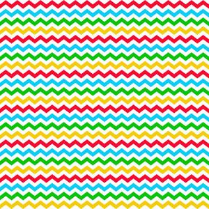 カラフルシェブロンクラブハウスのパターン