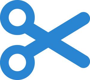 Cut Contents Simplicity Icon