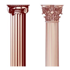 Design Elements - Ancient Columns