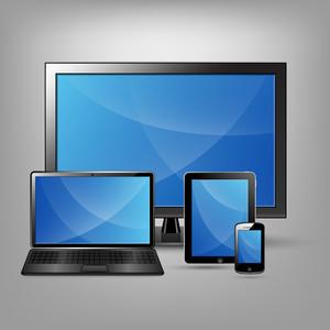 Gadgets électroniques Vector Set