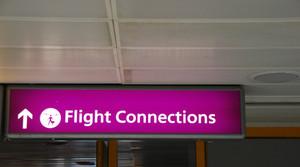 비행 연결 로그인