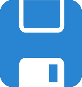 Floppy Disc Simplicity Icon