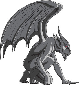 Gargoyles Vector Element