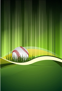 Green Baseball Field
