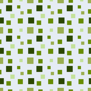 グリーンモノクロ正方形のパターン