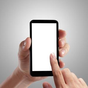 ハンドホールディングモバイルスマートフォン