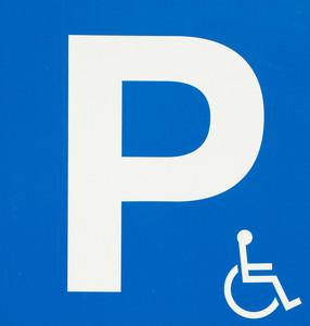 장애인 주차 로그인