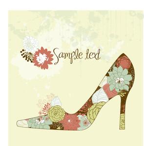 私は靴を愛し