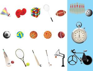 スポーツ必要な事項のイラスト