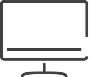 Monitor Minimal Icon