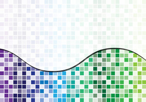 Mosaic Abstract Business Background In Vector Format