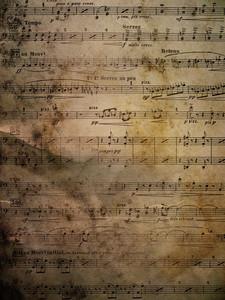用紙の音楽4テクスチャ