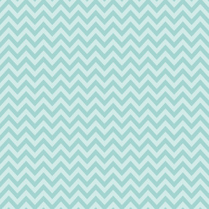 Pattern Of Mint And Blue Chevron
