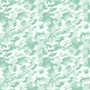 Pastel Green Camouflage Pattern