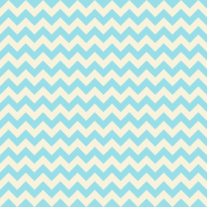 Blue Pastel Chevron Pattern