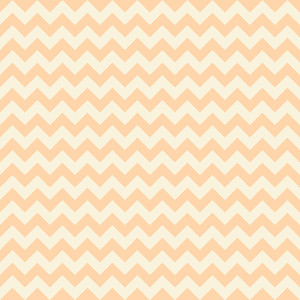 Orange Pastel Chevron Pattern