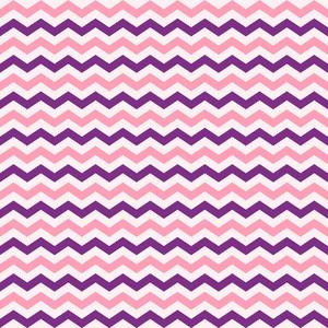 핑크와 퍼플 셰브론 패턴