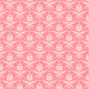Pink Decorative Pattern