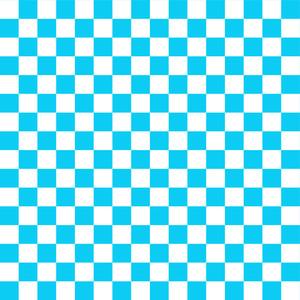 青と白の市松模様