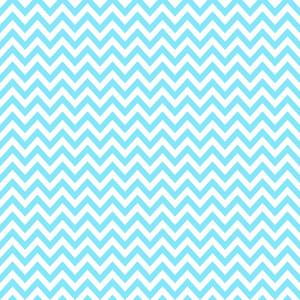 青と白のシェブロンパターン